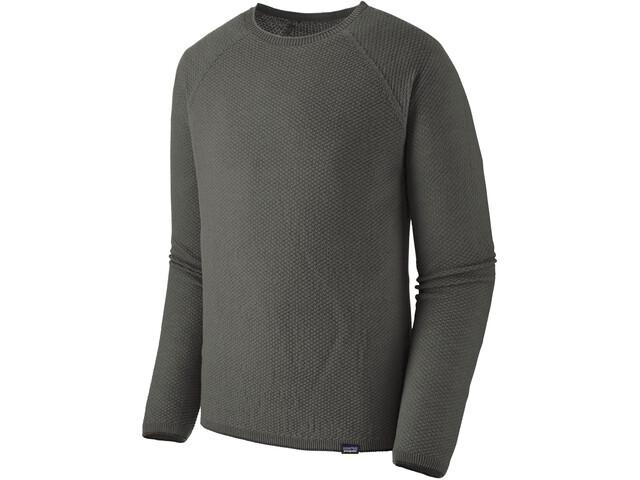 Patagonia Capilene Air Koszulka z długim rękawem Mężczyźni, forge grey/feather grey x-dye